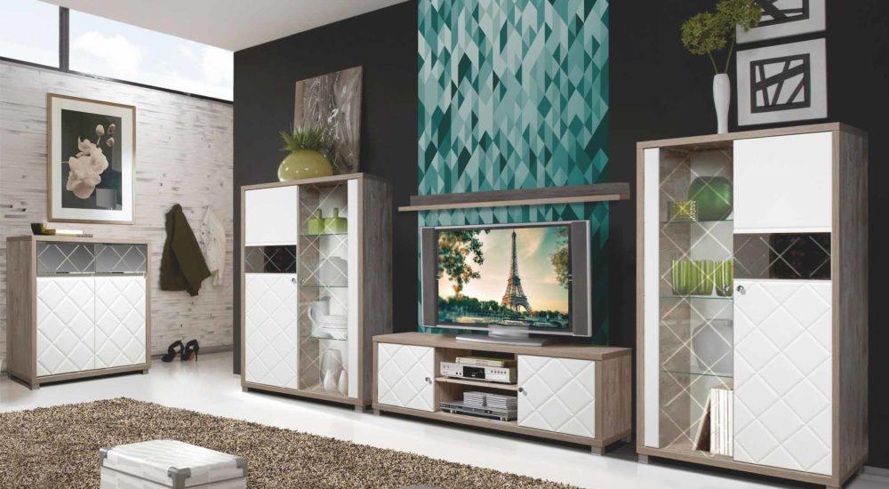Набор мебели для гостиной «Кристал»
